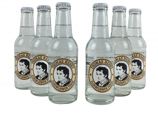 Thomas Henry Elderflower Tonic 6x 200ml