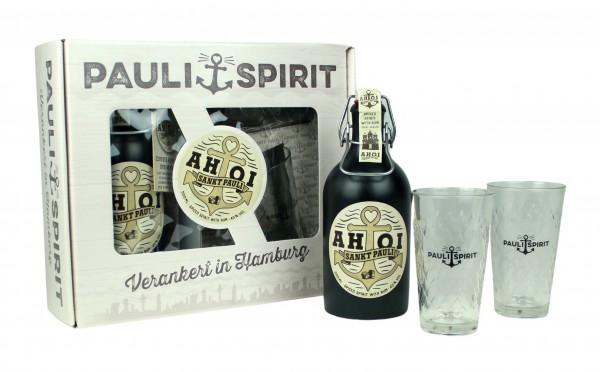Geschenkset AHOI Rum mit 2 Gläsern [Handel]