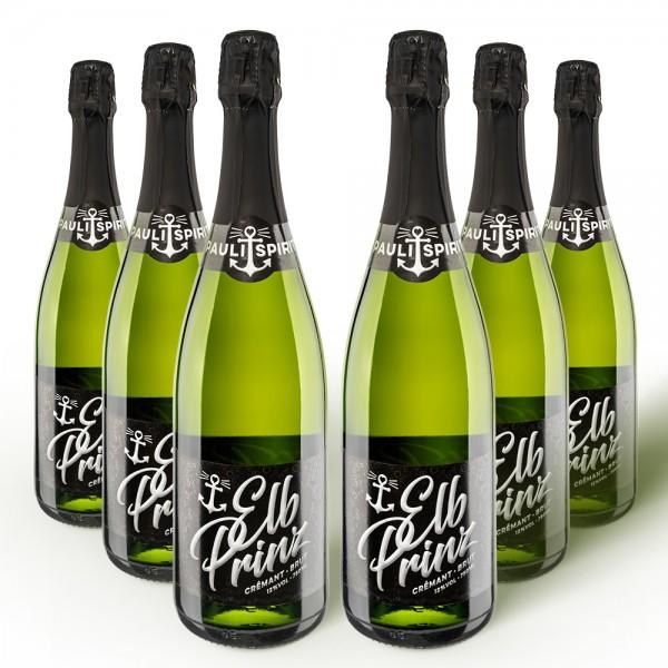 Elbprinz Crémant KARTON (6x Flasche 750ml) [Handel]