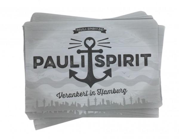 Aufkleber Pauli Spirit 10 Stk