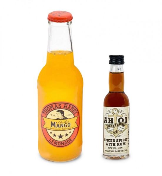 AHOI Rum 1 Lütten + 1 Thomas Henry Mystic Mango