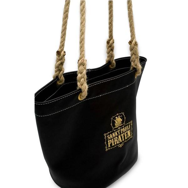 Sankt Pauli Piraten Echtleder-Tasche handgearbeitet