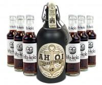 AHOI Rum Buddel + 6x fritz-kola zuckerfrei