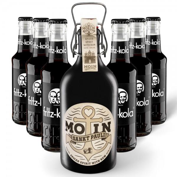 MOIN Rum Buddel + 6x fritz-kola