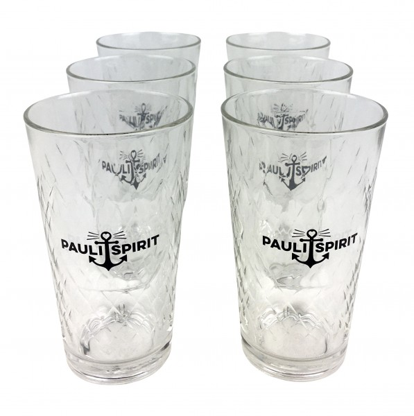 Pauli Spirit Glas 0,25 L KARTON (6 Stück) [Handel]