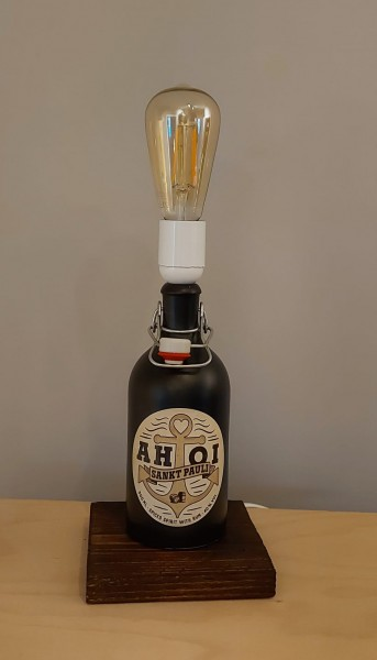 Lampe / AHOI Rum / Upcycling