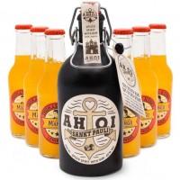 AHOI Rum Buddel + 6x Thomas Henry Mystic Mango