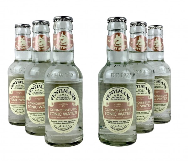 Fentimans Connoisseurs Tonic Water 6x 200ml