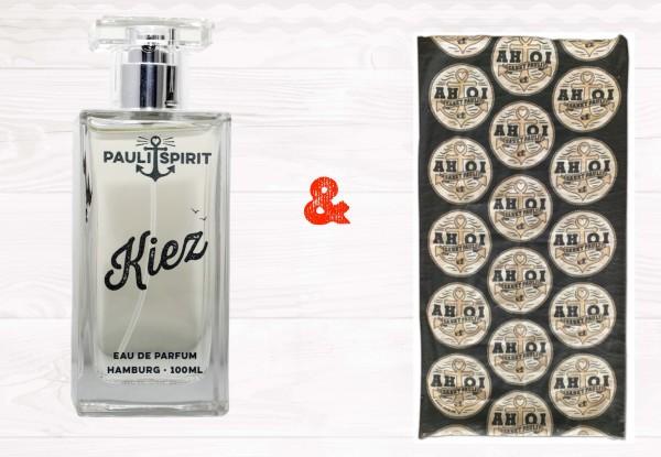 KIEZ Eau de Parfum 100ml + AHOI Bandana