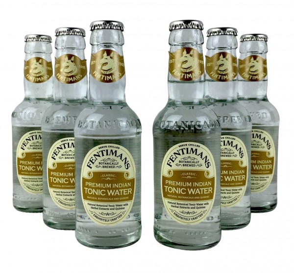 Fentimans Premium Indian Tonic Water 6x 200ml