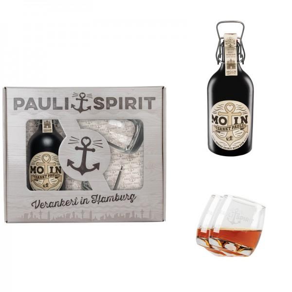 Geschenkset MOIN Rum (Spiced Spirit)