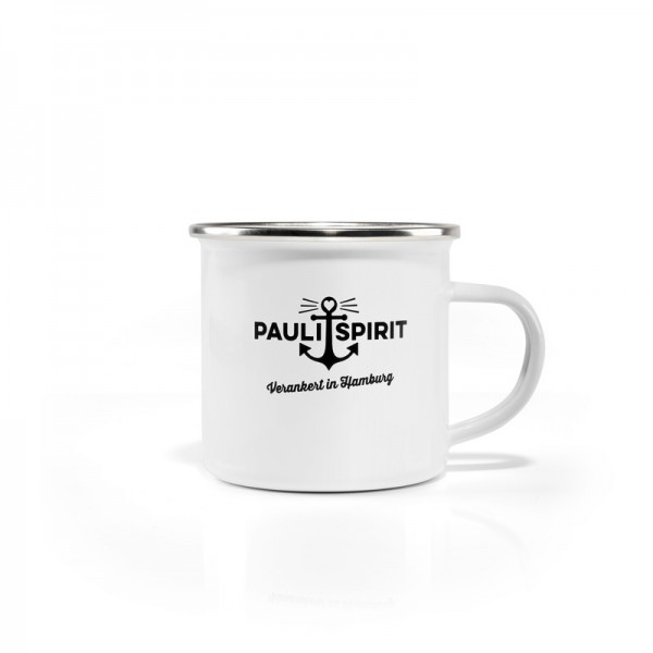 Pauli Spirit Emaille Becher