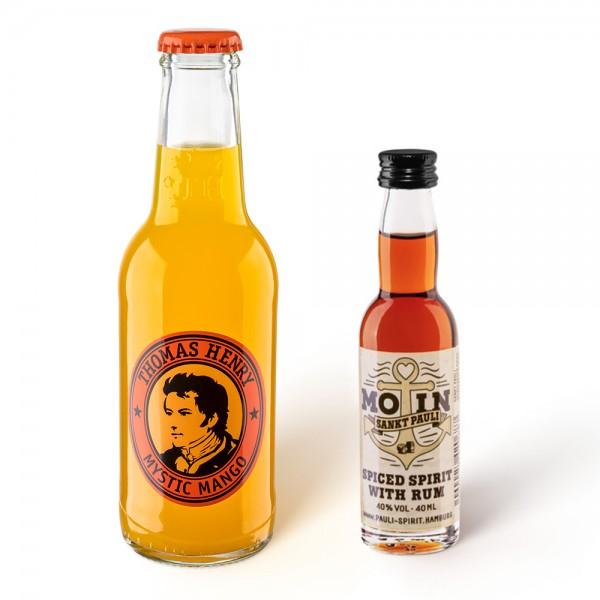 MOIN Rum 1 Lütten + 1 Thomas Henry Mystic Mango