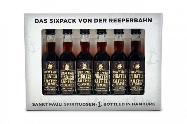 real.de: Piratenkaffee Lütten Sixpack im Geschenkkarton 6x 4cl