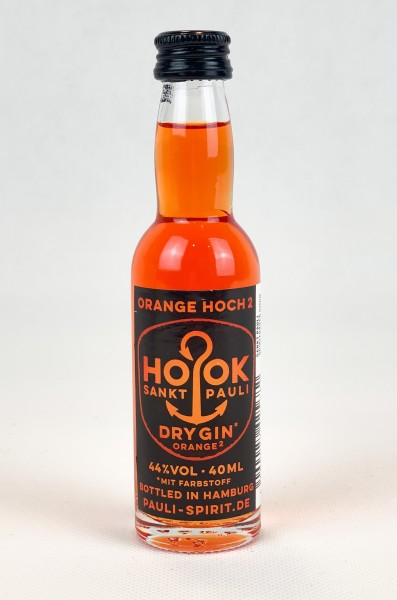 HOOK Gin Orange 1 Lütten 4cl