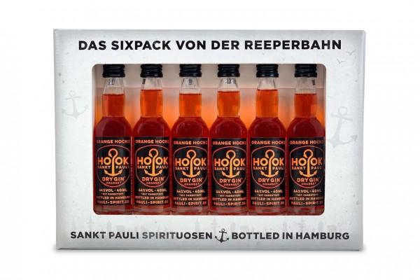 HOOK Gin Orange Lütten Sixpack im Geschenkkarton 6x 4cl