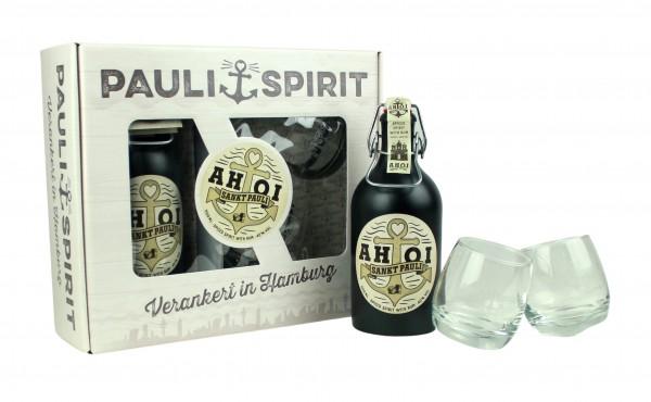 Geschenkset AHOI Rum mit 2 Tumblern [Handel]