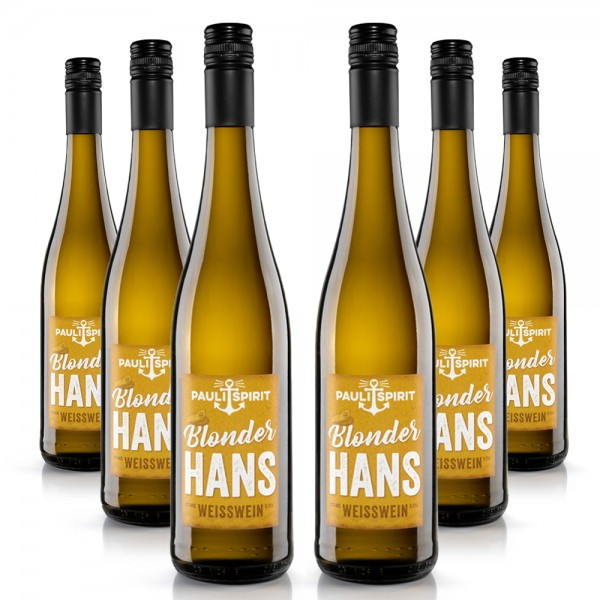 Blonder Hans Weisswein feinherb KARTON (6x Flasche 750ml) [Handel]