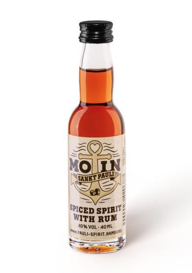 MOIN Rum (Spiced Spirit) 1 Lütten 4cl