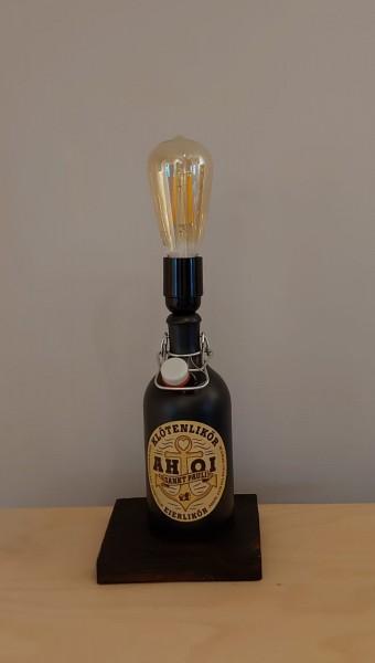Lampe / AHOI Klötenlikör / Upcycling