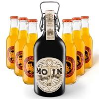 MOIN Rum Buddel + 6x Thomas Henry Mystic Mango